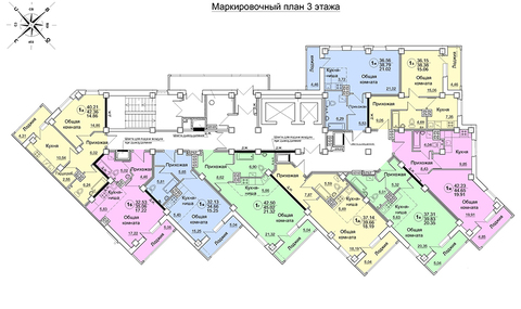 Продажа 1-комнатной квартиры, 39.5 м2, Архитектора Валерия Зянкина, д. . - Фото 5