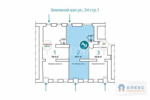 Продажа помещения свободного назначения (псн) пл. 69 м2 под аптеку, . - Фото 3
