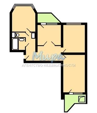 Прекрасная квартира отличной планировки с двумя застекленными лоджиям - Фото 2