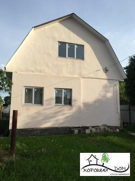 Продается 2-этажный дом ИЖС 100 кв. м. с газом в пос. Андреевка - Фото 1