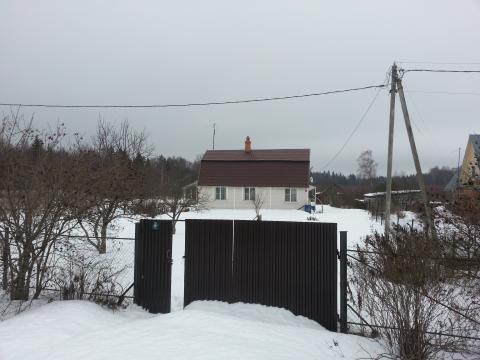 Дом для круглогодичного проживания Мос обл Минское ш, до метро 135 км - Фото 1