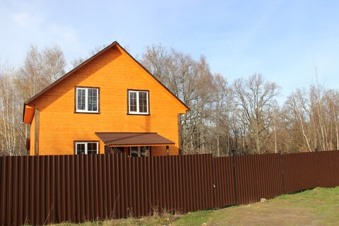 Дом с Газом, 16 соток, Лес, д.Храпки - Фото 1