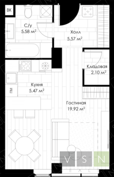 Продается квартира г.Москва, 3-й Автозаводский проезд - Фото 4