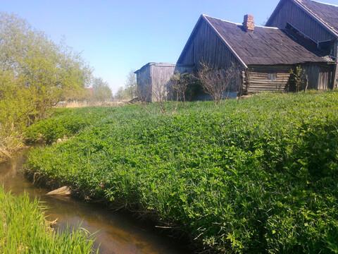 Продается участок под Павловском 15 соток ИЖС с домом на берегу реки - Фото 3
