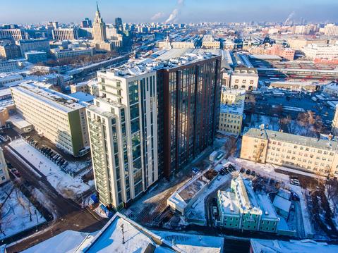 "4-х комн. апартаменты,150,6 кв.м, 17этаж в ЖК ""Басманный,5"" - Фото 1"