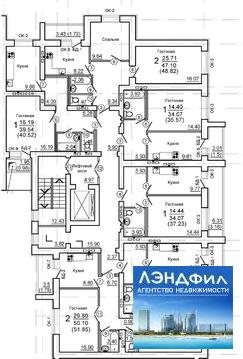1 комнатная квартира в новостройке, Романтиков, 48а - Фото 2