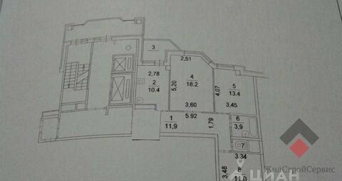 Продам 3-к квартиру, Власиха, микрорайон Школьный 9 - Фото 2