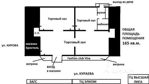 Продажа торгового помещения, Пенза, Ул. Кураева - Фото 2