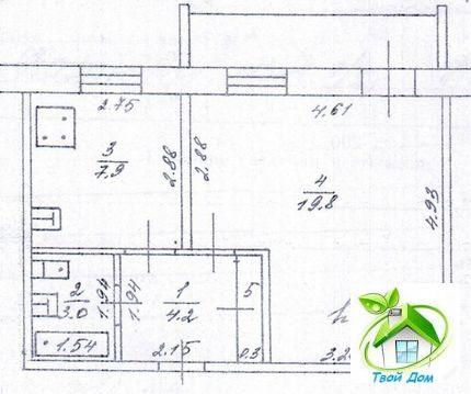 1 700 000 Руб., 1-комн, город Нягань, Купить квартиру в Нягани по недорогой цене, ID объекта - 320493408 - Фото 1