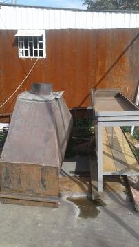 Продам большой мангал с вытяжкой - Фото 1