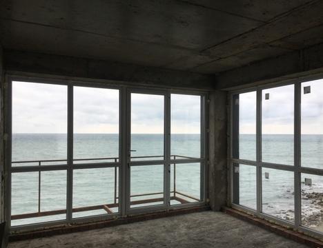 Апартаменты на берегу моря п.Ольгинка - Фото 1