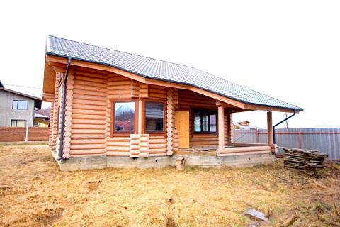 Добротный дом из оцилиндрованного бруса - Фото 4
