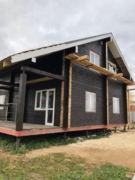 Продается новый дом из бруса 160 кв.м.в Яхроме, 12с ИЖС, все коммуник. - Фото 2