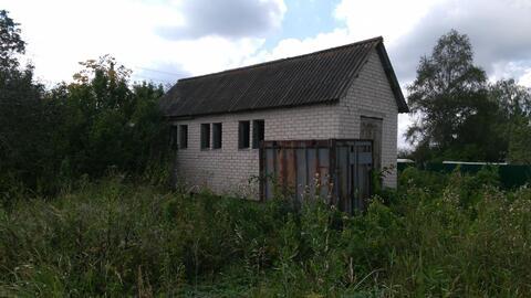 Участок 15 соток, в д.Сибилево(д.Купники), с кирпичным садовым домиком - Фото 5