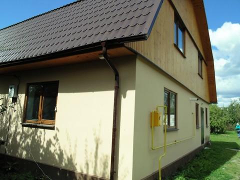 Дом из пеноблока 240 м2 на участке 17соток г. Белоусово - Фото 2