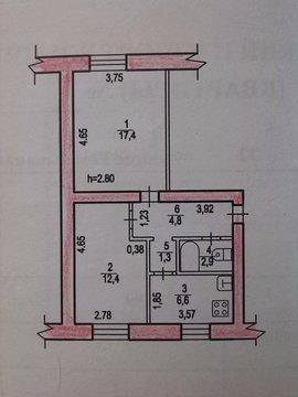 Продам двухкомнатную квартиру, ул. Ремесленная, 12 - Фото 1