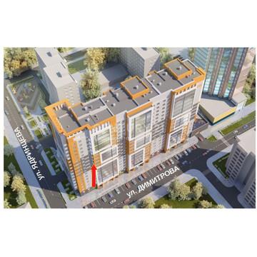 1-комнатная Димитрова, 130 (43,5 м2), Купить квартиру в Барнауле по недорогой цене, ID объекта - 329873189 - Фото 1