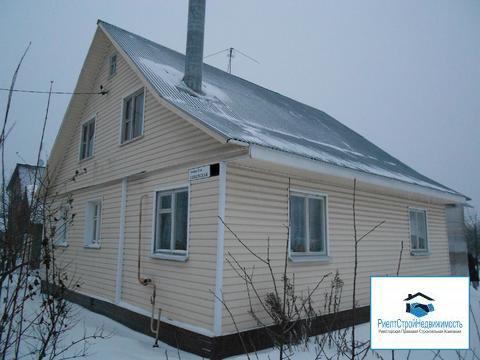 Дом 150 кв.м со всеми коммуникациями ИЖС,18 соток, газ - Фото 1