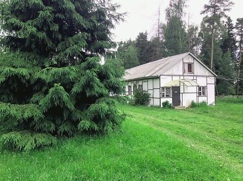 База отдыха 1.9 Га на берегу реки, 700 кв.м, Павлово-Посадский р-н, с. - Фото 1