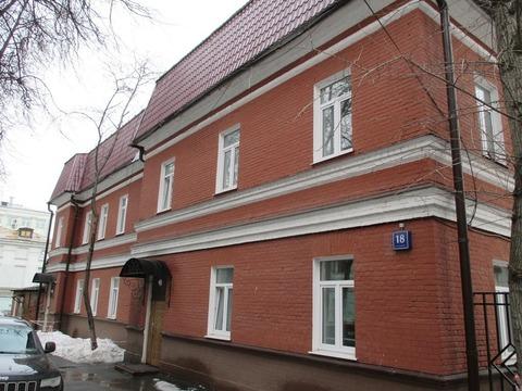 Москва, Новая Басманная, дом 18, стр 4, офис 22 кв.м - Фото 1