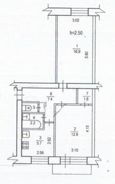 Продается квартира 46 кв.м, г. Хабаровск, пер. Зеленоборский - Фото 5