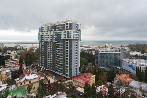 Элитная квартира в центре Сочи с чудесным видом на море! - Фото 5
