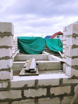 Земельный участок в д. Узигонты 10.55 соток ИЖС с фундаментом, . - Фото 4