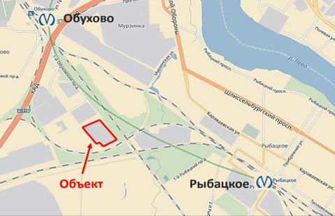 Продажа земельного участка, м. Обухово, Грузовой проезд - Фото 2