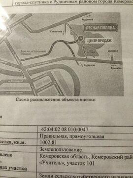 Продажа участка, Кемеровский район, Участок 101 - Фото 1