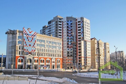 Помещение 134 кв.м. на первом этаже нового дома в центре - Фото 1