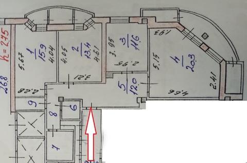 3х-комнатная квартира на ул.Строителей (96м2) - Фото 5