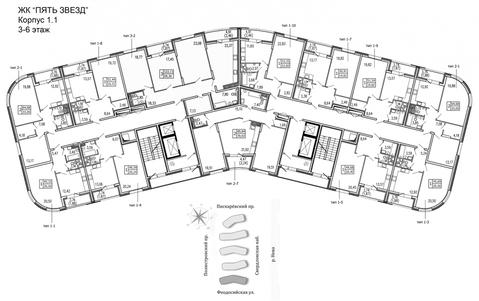 Продам 1к. квартиру. Жукова ул, д.3 к.1.1 - Фото 2