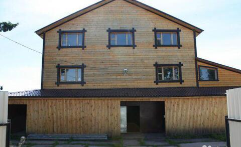 Дом 3-этажный дом 408 м2 (брус) на участке 8 сот. - Фото 1