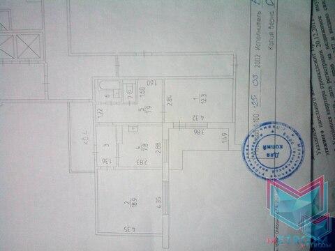 Квартира 54 кв.м. Бульвар Гагарина 70б - Фото 2