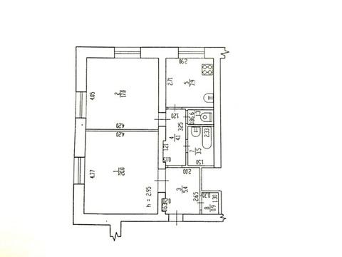 2-х комнатная квартира ул. Дуки д. 70 - Фото 3