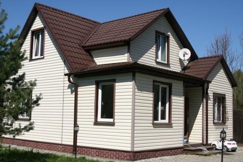 Уникальный, очень тёплый, зимний обжитой дом на прилесном участке - Фото 1