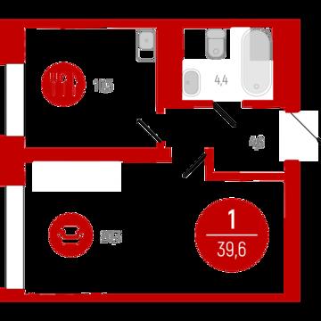 Продажа квартиры, Тюмень, Тихий, Купить квартиру в Тюмени по недорогой цене, ID объекта - 315690457 - Фото 1
