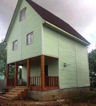 Купить дом из бруса в г. Домодедово мкр-н Белые Столбы, ул. Шебанцево - Фото 1