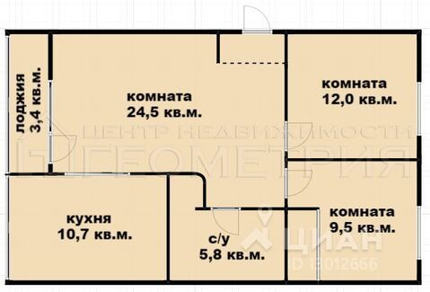 Продажа квартиры, Березовый, Ул. Новосельская - Фото 2