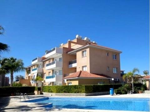 Прекрасный двухкомнатный Апартамент рядом с удобствами в Пафосе - Фото 1