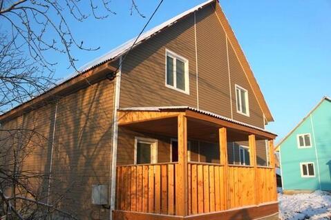 Купить дом из бруса в Кировском районе г. Отрадное - Фото 1