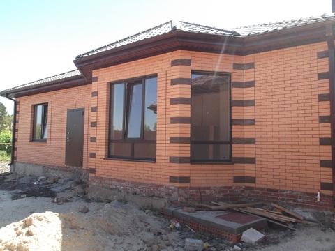 (04391-107).Продается в районе зжм новый кирпичный дом - Фото 1