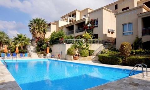 Прекрасный трехкомнатный Апартамент с видом на море в районе Пафоса - Фото 1