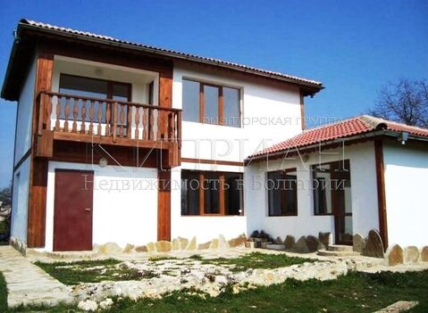 Новый двухэтажный дом в 6 км от Кранево - Фото 1
