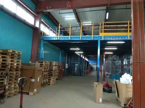 Теплый склад 550 м2 с 2 пандусами и офисом в Машково в 11 км от МКАД - Фото 2