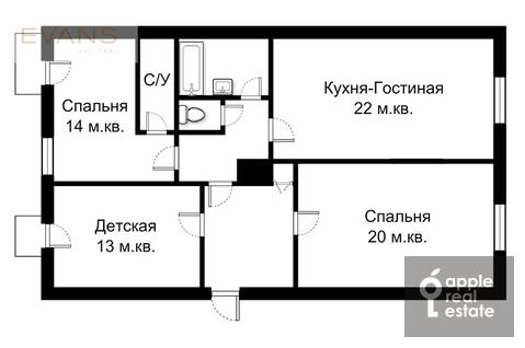 Продажа квартиры, Ул. Крымский Вал - Фото 1