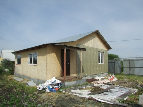 Продам сад с домом, Продажа домов и коттеджей в Челябинске, ID объекта - 503672984 - Фото 1