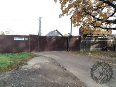 Участок для строительства дома, шикарное СНТ Флора, Подольск, Климовск - Фото 1