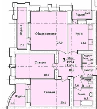 Продажа квартиры, Липецк, Ул. Юных Натуралистов - Фото 1