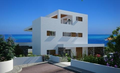 Роскошные новые 3-х и 4-х спальные виллы у моря в пригороде Пафоса - Фото 2